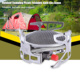 BULIN BL100-B15 Outdoor Gas Stove Foldable Cooking Camping Split Burner