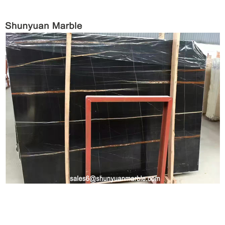 tiles black slab marble temple designs for home