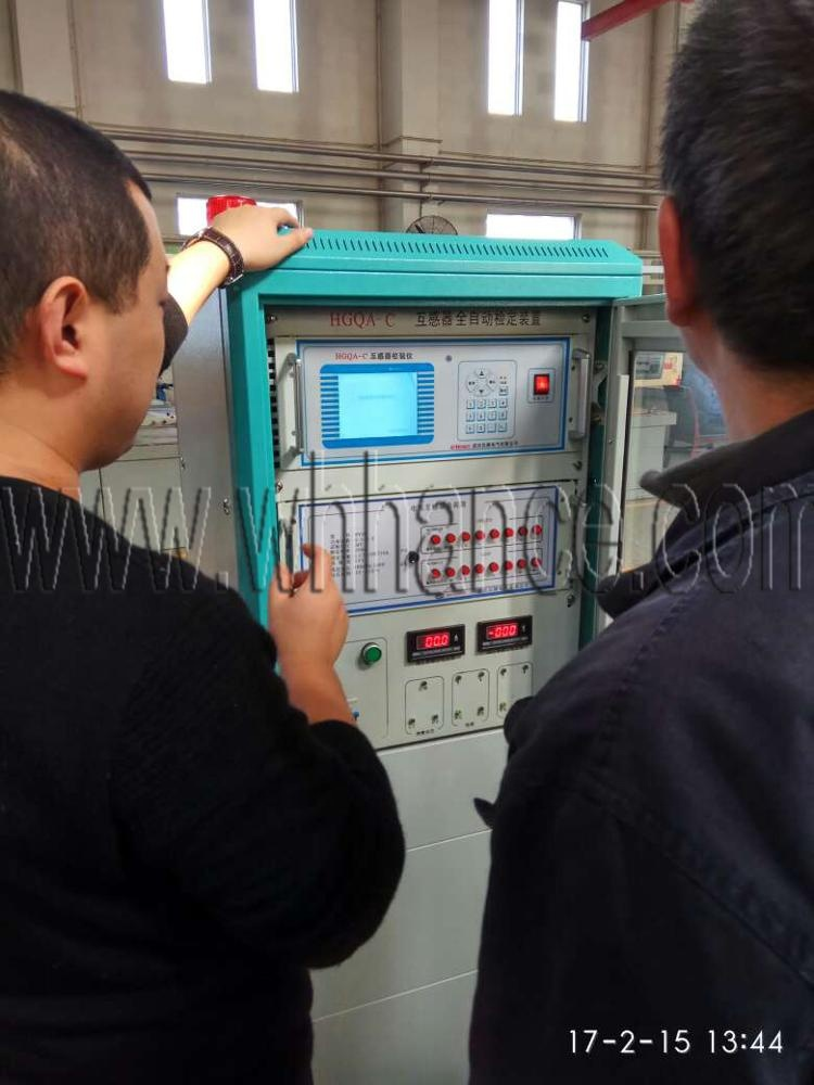 Automatic Transformer Test Bench