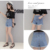 2018 ladies short pants woman thin jeans elastic summer trousers