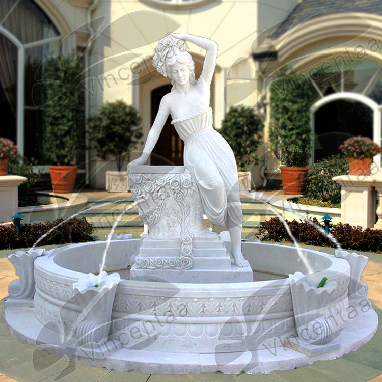 Chinese brand 30% discount white marble water fountain mold