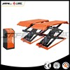 3.0T Low Profile Scissor Lift, Surface mounting Car Lift with CE