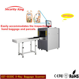 X ray baggage scanner metal detector for Through Type luggage Detector x ray luggage scanner screening machine (XST-5030C )