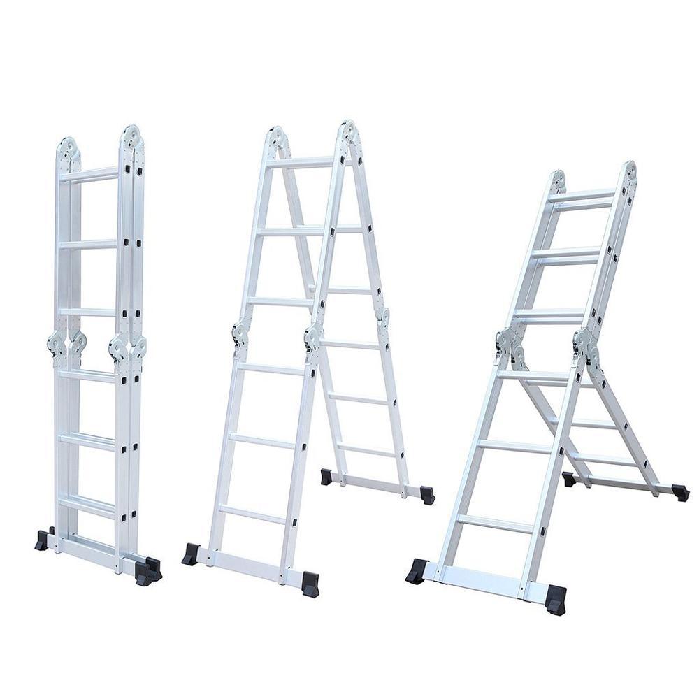 28 foot folding ladder turret security camera