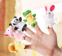 Cute mini animal finger puppet / dolls and stuffed toys plush toys for kids christmas gift