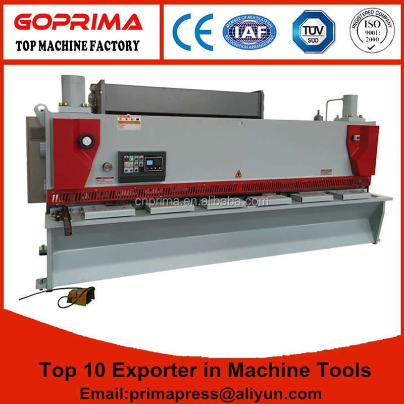 Made in China Q11 series Hydraulic plate cutting machine price,heavy duty hydraulic shearing machine with feeding table