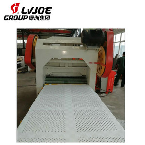 High speed automatic economic sheet metal plate perforating machine