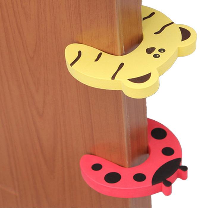 Стильный случайно цвет младенцы дверь стоп палец сборка охранники будут держать ваши дети маленькая палец в безопасности