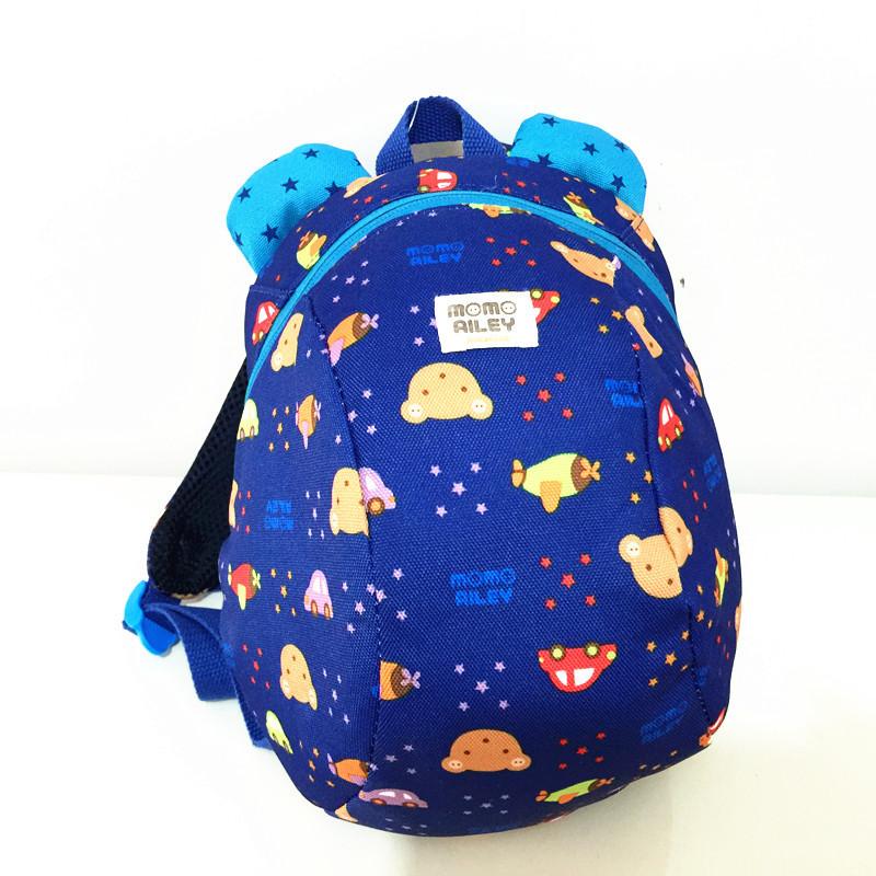 Симпатичные карикатуры черепаха малышей дети мальчики и девочки анти-потерянный холст мешок школы рюкзаки
