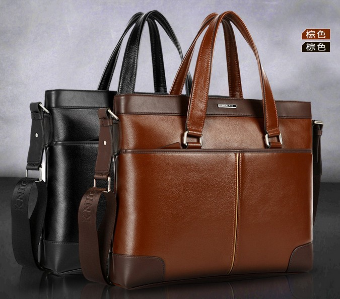 GF-A13249 Trendy oily leather tote bags for men