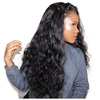 Unprocessed Virgin Brazilian Human Hair Lace Front Wig Body Wave Full Lace Human Hair Wig For Black Women with baby hair