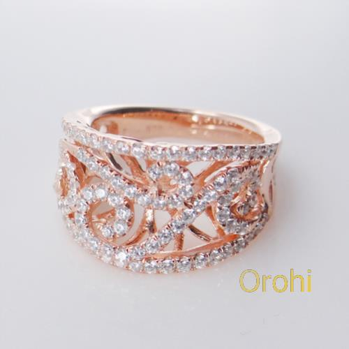 S572-r--indian Engagement Rings With Names18k Rose Gold Wedding ...
