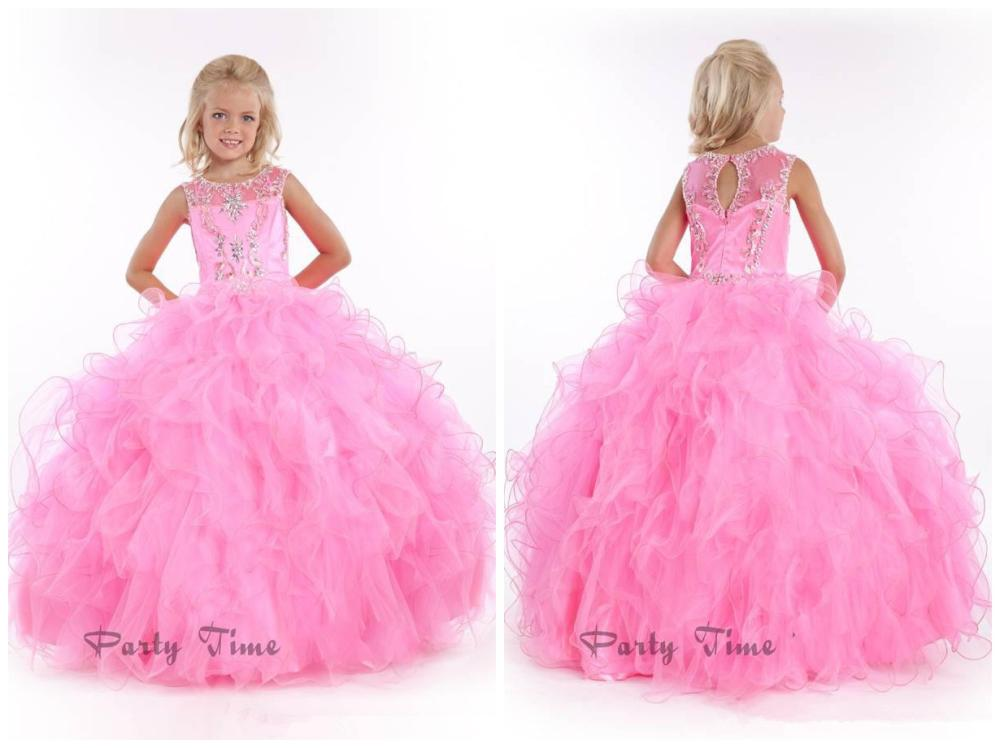 Cheap Pink Pageant Gown, find Pink Pageant Gown deals on line at ...