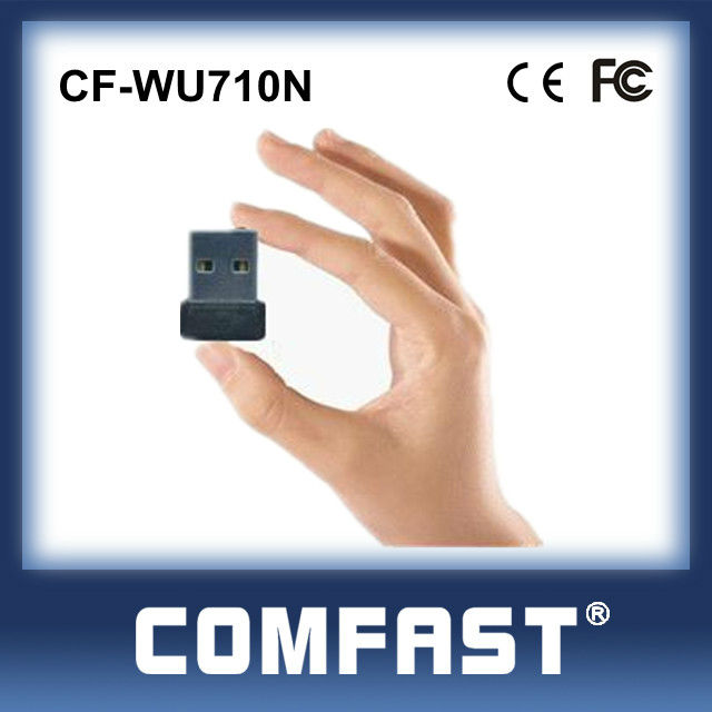 Realtek USB Wifi Adapter 150 Mbps Speed USB 2.0 Wireless 802.11n Network Card Adapter Signal Receiver COMFAST CF-WU710N