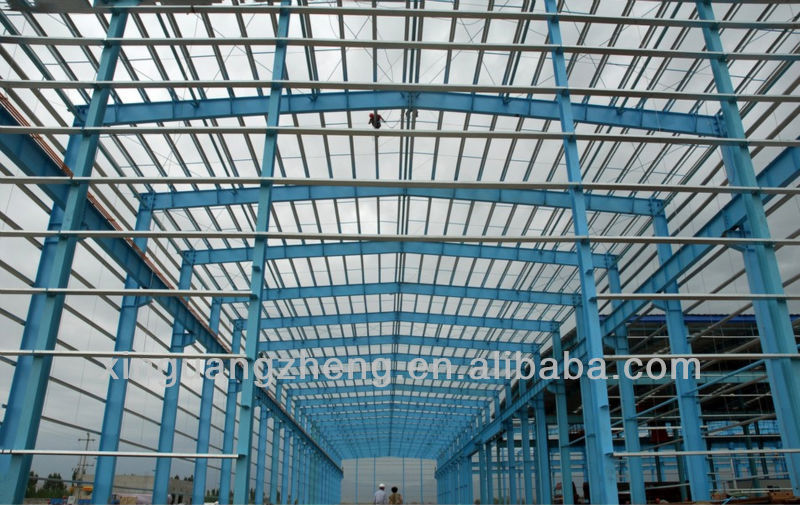 steel structural fabricated warehouse