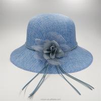 New Design Ladies Church Sinamay Hats