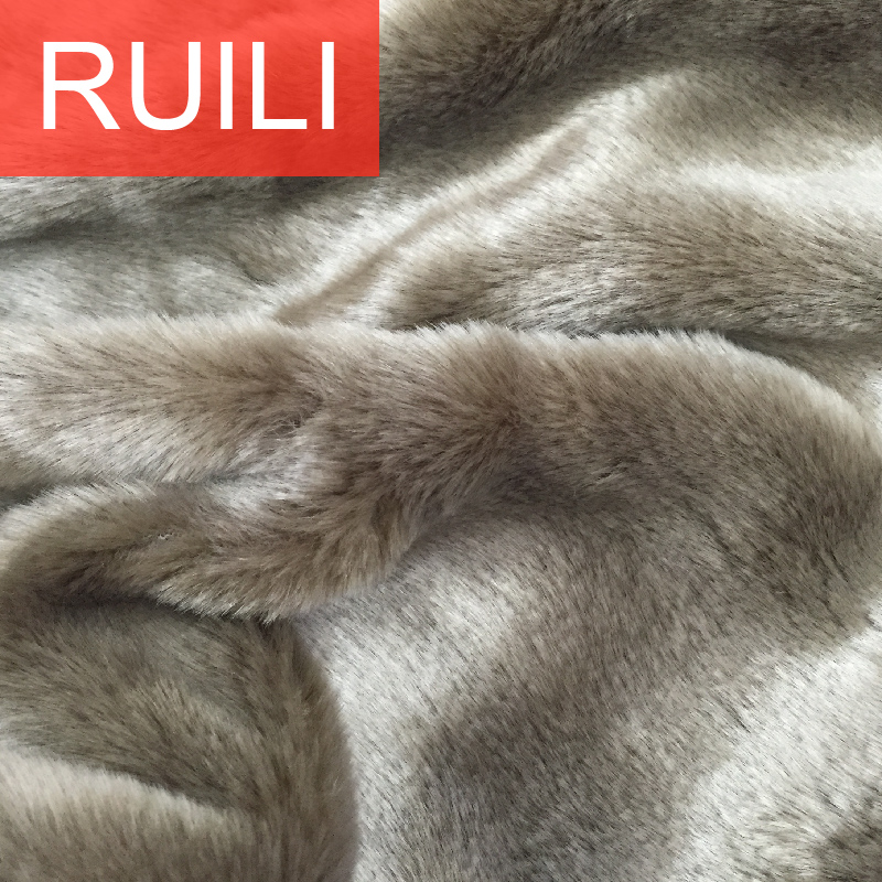 Spot Artificial Fur Striped Jacquard Plush Faux Fur Fabric Clothing Pillow Blanket Home Fabric Products Are Sold Without Limitations Entertainment Memorabilia