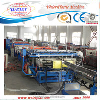 Plastic machine pe pp pc hollow board/sheet/grid/plate extrusion /production machine line