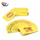 China Product Hot Sale Custom Designed Sexy Gold Foil Play Cards