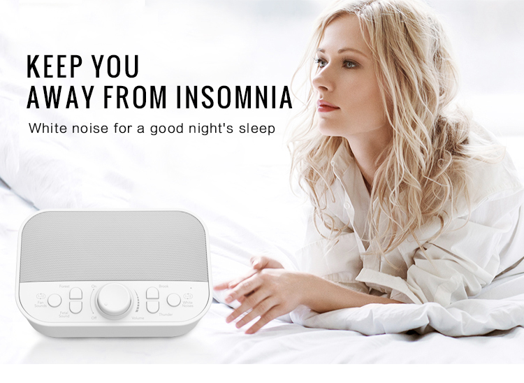 Good reputation best white noise sound sleep machine