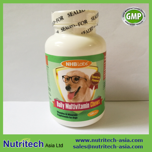 Dogs Daily Multivitamin Chewable tablets