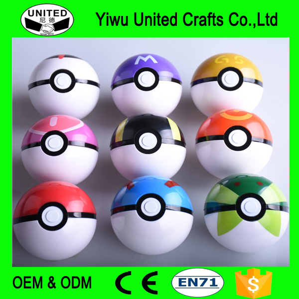 Pokemon Ball Figures ABS Anime Action Figures Pokemon Go PokeBall Toys Super Master Pikachu Pokemon Ball Toys