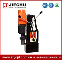 80mm BJ-80RCE 380V bench power drill with magnetic stand