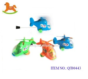 Cheap pull wire Plane candy toy best selling products in japan