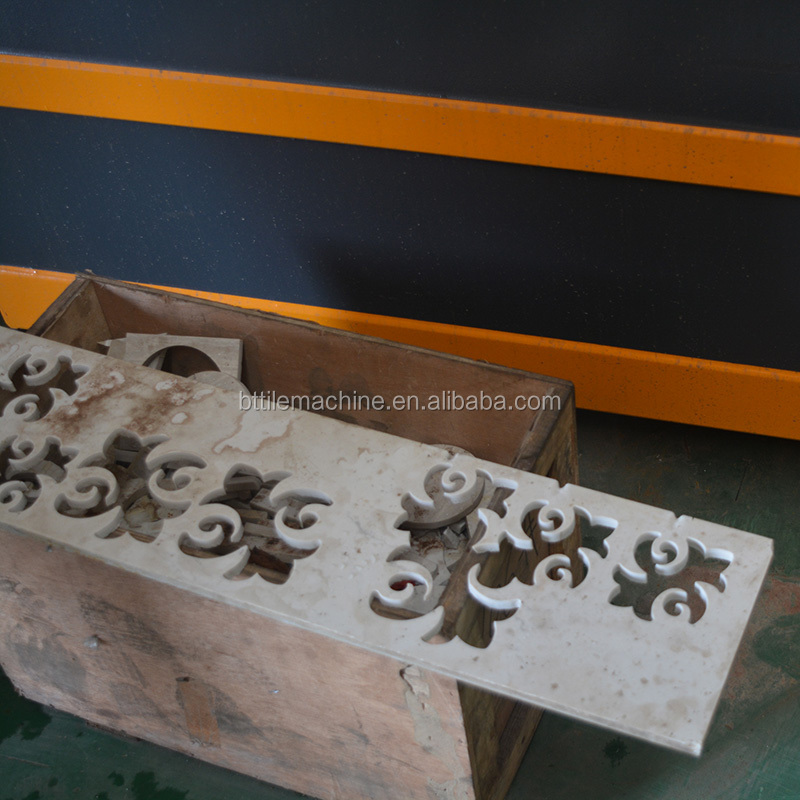 Small Water Jet Stone Cutting Machine 5 Axis cnc router Ceramic Tile
