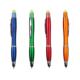 Wax highlighter plastic pen and 3 in 1 promotion pen