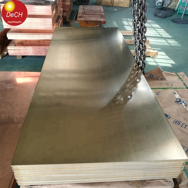Customize Pure Copper C1100 Width 1240mm Copper Sheet For