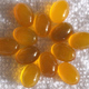 Yellow gemstone,yellow agate for sale