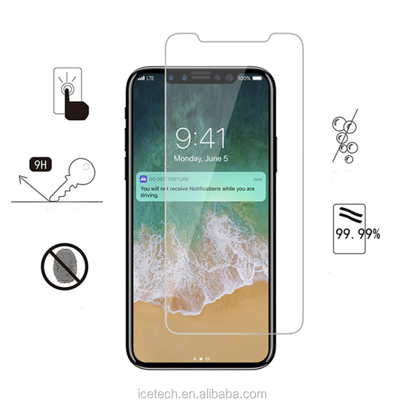 touch screen glass film Tempered glass screen protector film for iPhone8