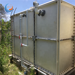 Grp panel waste water treatment tank, grp container, fiberglass septic tank