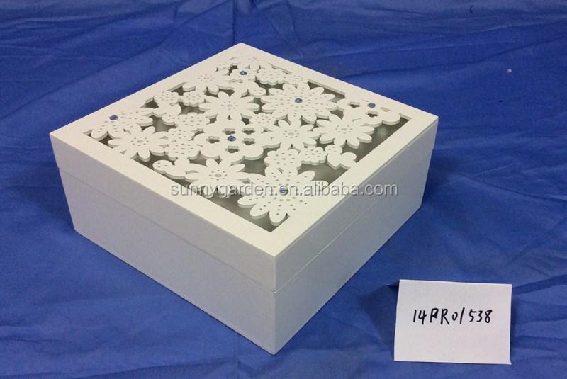 mdf d corer artisanat bo tes laser sculpt bo tes blanc. Black Bedroom Furniture Sets. Home Design Ideas