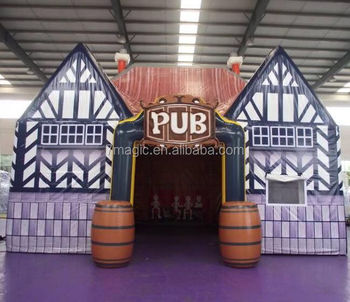 Inflatable Pub Bar,inflatable Pub House, inflatable Exhibition Pub Tent For Beer Advertising