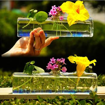 Persegi Panjang Vas Kaca Untuk Rangkaian Bunga Buy Persegi Panjang