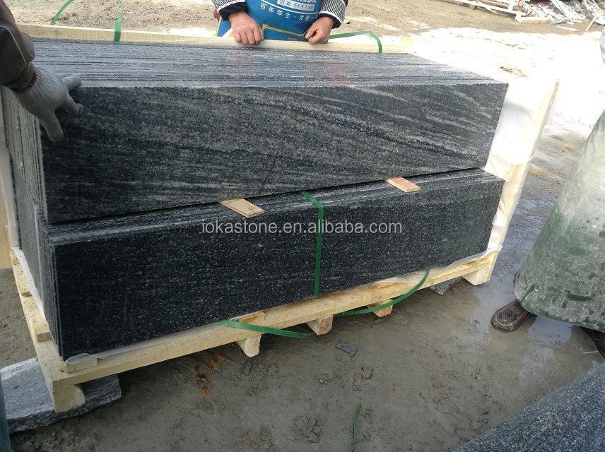 A buon mercato negro santiago 24 x 24 mattonelle del granito