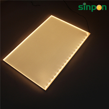 Illuminated Flexible LED backlight panel 500x240mm large LED sheet mats