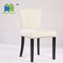 (ADELAIDE) Morden small white comfortable gorgeous wood dining chair