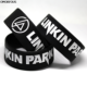 Linkin park wristband custom silicone bracelets personalize your own logo 1inch rubber wristband