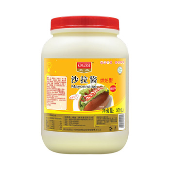 3L Low Price High Capacity Multiple Flavors Mayonnaise For Baked