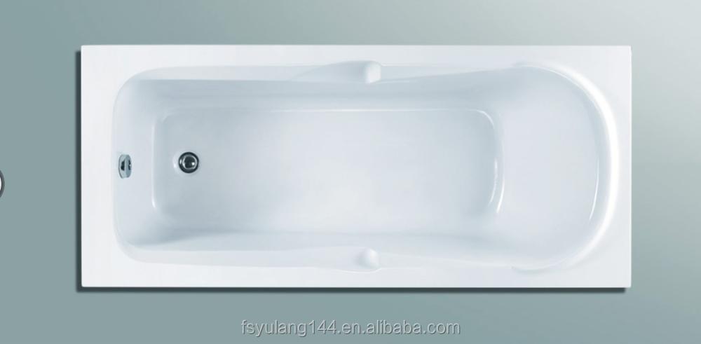 Ad-12 High Quality Cheap Price Ordinary Acrylic Bathtub/plain Bath ...