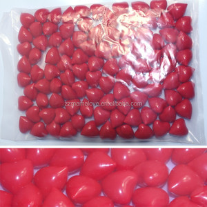 Wholesale 4.2g White Heart-shaped Bath Oil Beads Jasmine Flavor Bath Pearls Bath SPA Beads 100pcs/lot