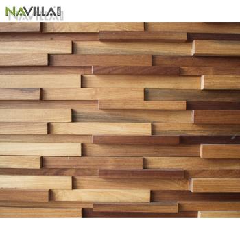 kayu langit-langit panel dinding sticker home decor - buy 3d stiker