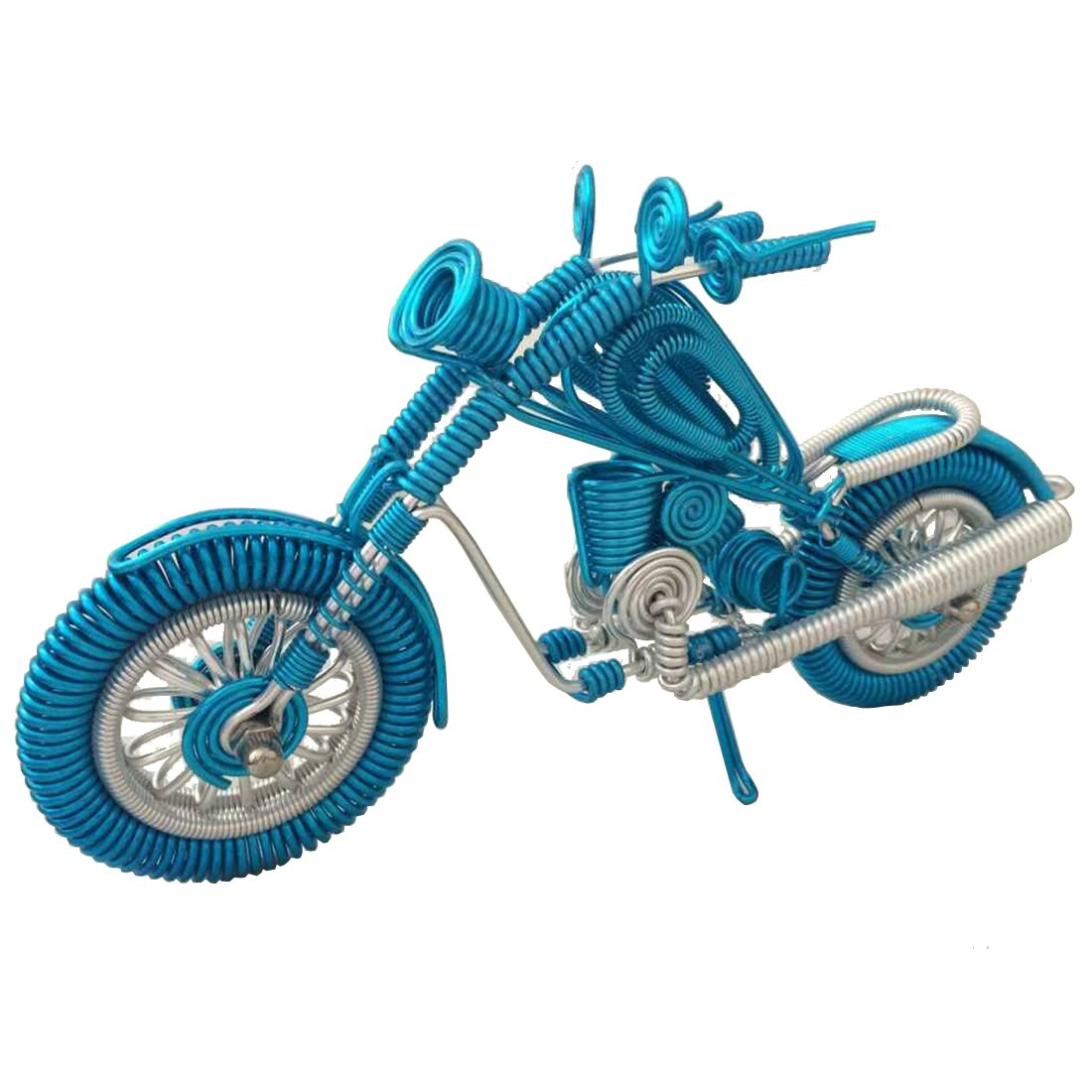 Buy Handmade Craft Motorbike Model Unique Aluminium Metal Wire ...