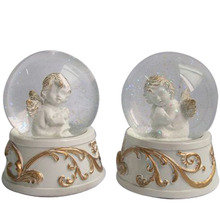 Hars <span class=keywords><strong>water</strong></span> globe sneeuw bal <span class=keywords><strong>water</strong></span> globe met baby angel beeldje binnen