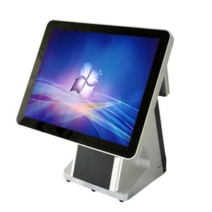 15 pos monitor 15 inch pos touch screen monitor 15 inch metal case all in one pos with supermarket