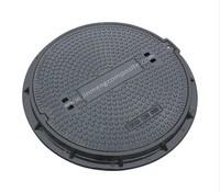 customized water meter plastic box manhole cover and frame with hinge
