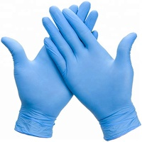 Consumable certified medical powder cheap nitrile glove